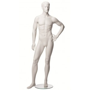 Exklusive skulptur skyltdocka herr modell 5