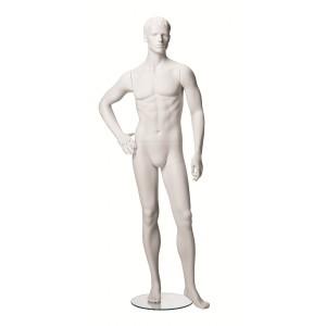 Exklusive skulptur skyltdocka herr modell 4