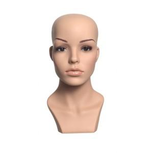 Dekor dam huvud med makeup
