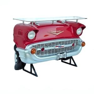 Bar bord Chevy röd  183 cm