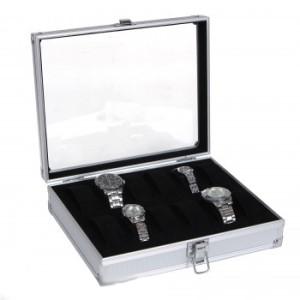 Aluminium  Box för 12 klockor  JWB101B