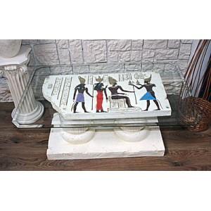 Egyptiskt lyxigt bord  105 cm