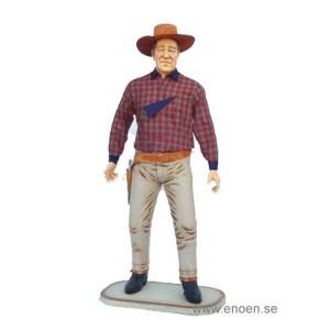 SHERIFF COWBOY 195 CM I NATURLIG STORLEK