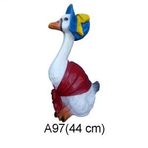 "GÅS FIGUR ""CARTOON"" 44 CM"