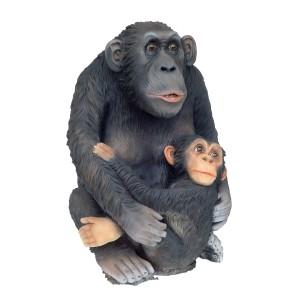 Schimpans med barn 78 cm