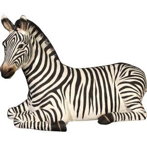 Zebra vilande i naturlig storlek 175 cm