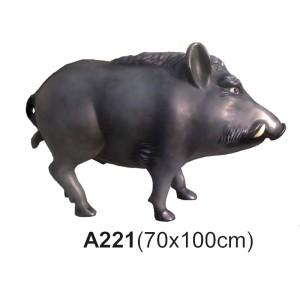 Vildsvin 100 cm