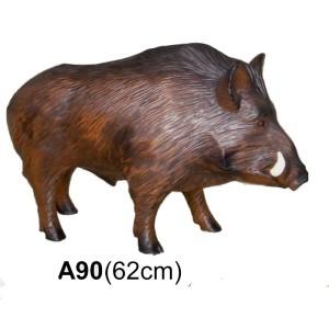 Vildsvin 62 cm