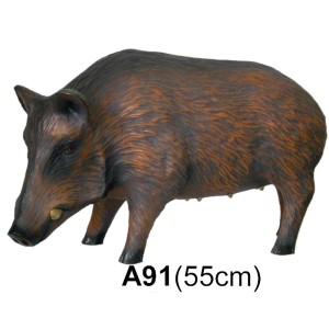 Vildsvin 55 cm