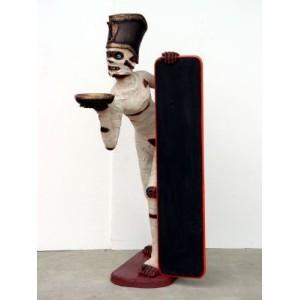 Butler Mumie med menytavla 165 cm