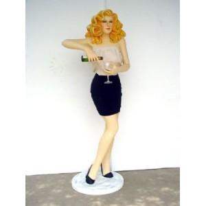 Bartender Lady 176 cm