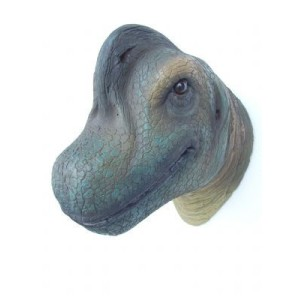 Dinosaurie Brachiosaurus Huvud 42 cm