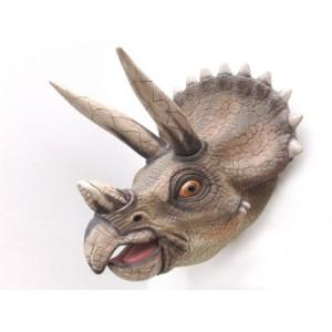 Dinosaurie Triceratops Huvud  90 cm