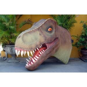 Dinosaurie T-Rex Huvud 207 cm