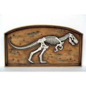"Dinosaurie T-Rex Fossil i Tavla ""Frame"" 156 cm"