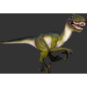 Dinosaurie 3,43 m  Dromaeosaurus