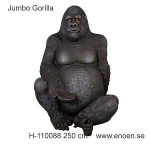 """JÄTTE GORILLA """"JUMBO"""" 250 CM"""