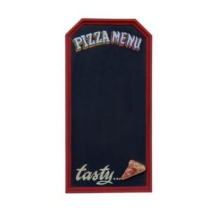 """PIZZA """"MENY ELLER INFORMATIONS TAVLA"""" FÖR DIN PIZZERIA ELLER RESTAURANG 63 CM"""