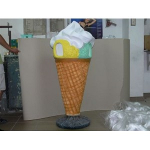 Papperskorg Ice Cream 170 cm