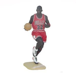 Basket spelare i naturlig storlek 205 cm