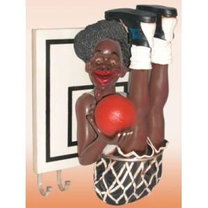 Basket spelare Klädhängare