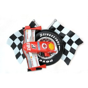 Car Racing Rutig flagga w F1 Nos 149 cm i glasfiber