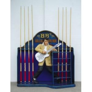 Elvis kö hållare till biljard 116 cm i glasfiber