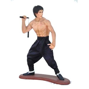 Fighting Kung-Fu Fighter 93 cm i glasfiber
