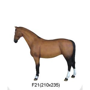 HÄST 210x235 CM