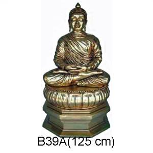 BUDDHA SKULPTUR 125 CM