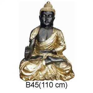 BUDDHA SKULPTUR 110 CM