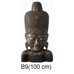 BUDDHA FIGURER 100 CM