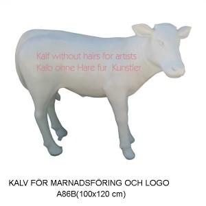 KALV FÖR MARKNADSFÖRING, VALFRI LOGO,  FÄRG  M.M. 100x120 CM
