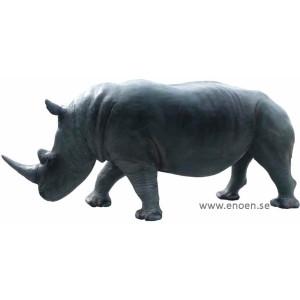 Noshörning i naturlig storlek 390 cm