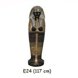 EGYPTISK FIGURER MUMIE 117 CM