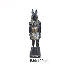 EGYPTISK SKULPTUR 100 CM ANTABUS
