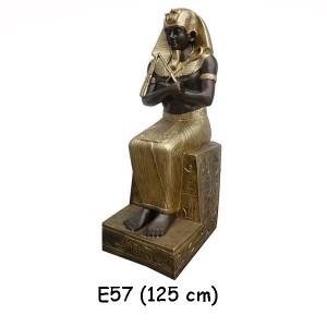 EGYPTISK FIGURER FARAO 125 CM
