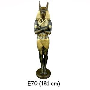 EGYPTISK FIGURER ANTABUS 181 CM