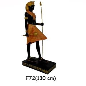 EGYPTISK FIGURER FARAO 110 CM