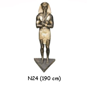 EGYPTISK FIGURER RAMZES 190 CM