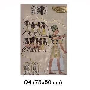 EGYPTISK FIGURER BILD 72 CM