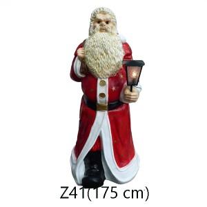 TOMTE MED LYKTA 175 CM