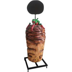 Kebab menytavla 200 cm