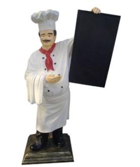 Kock med menytavla 180 cm