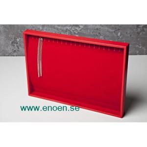 Elegant display för kedjor m.m. 35x23 cm