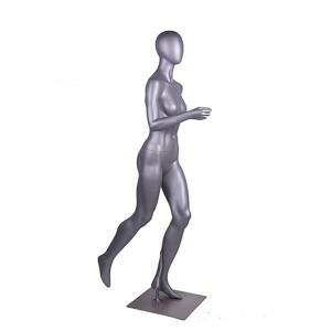 Jogging sport och ortoped skyltdocka dam