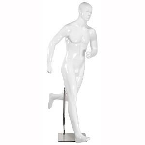 Runner sport abstrakt skyltdocka herr
