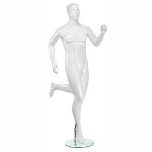 Sprinter sport abstrakt skyltdocka herr
