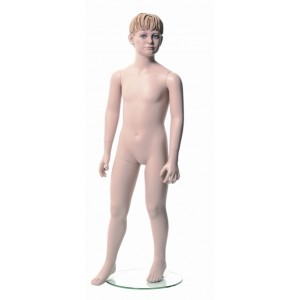 Pojke Floyd 6 år skyltdocka skulptur