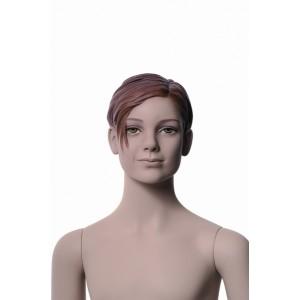Flicka Cher 10 år skyltdocka skulptur